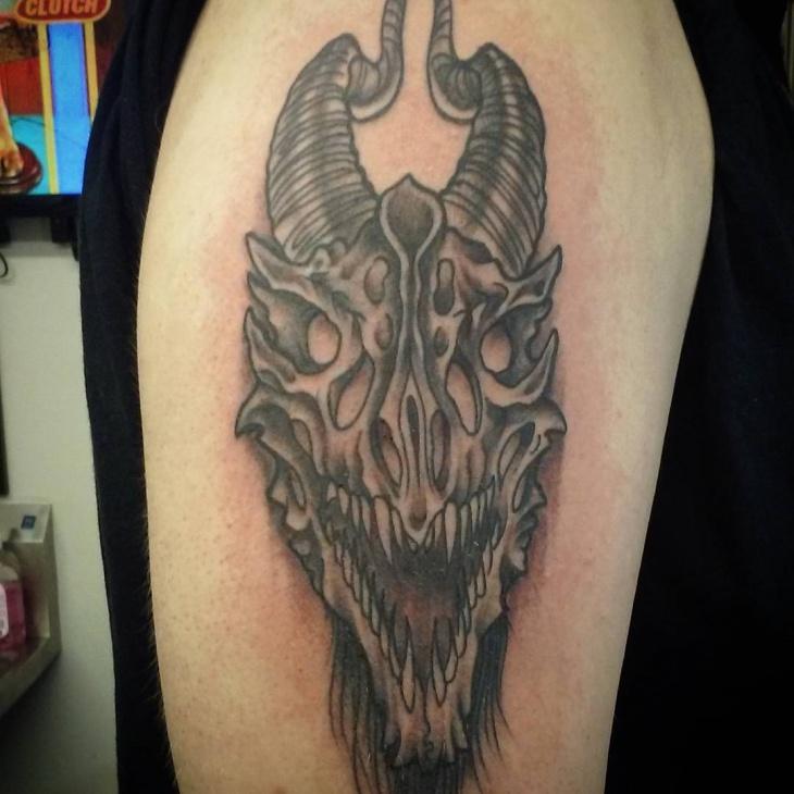 40+ Skull Tattoo Desig...