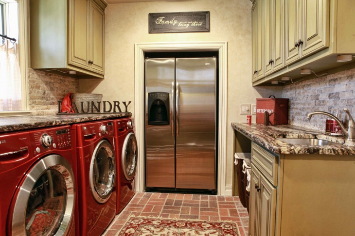 small pantry laundry room design