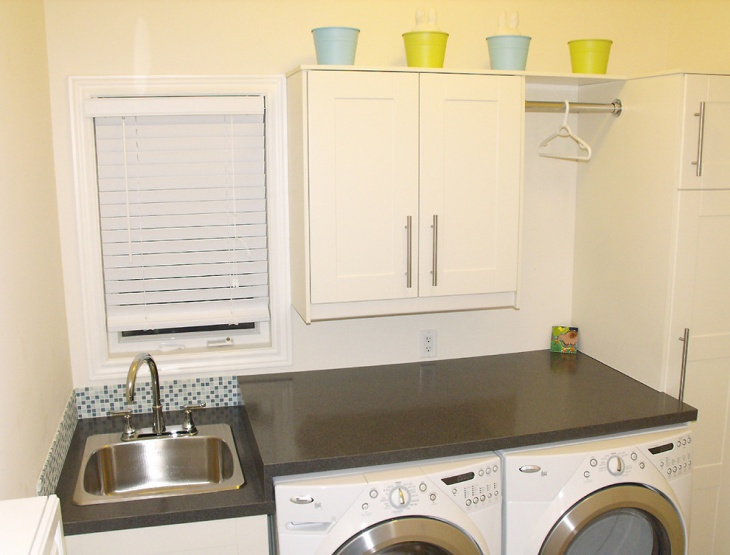 functional small laundry room