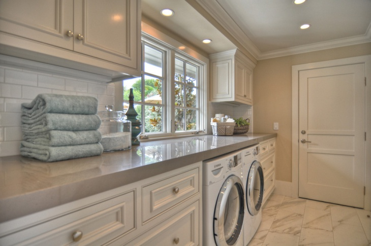 modern laundry room interior design