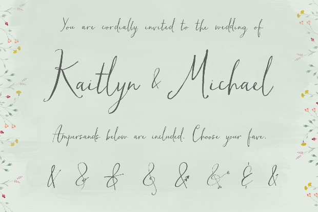 Fancy Handwritten Calligraphy Font
