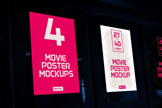 Movie Poster Mockup Design