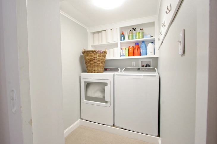 modern country laundry room design