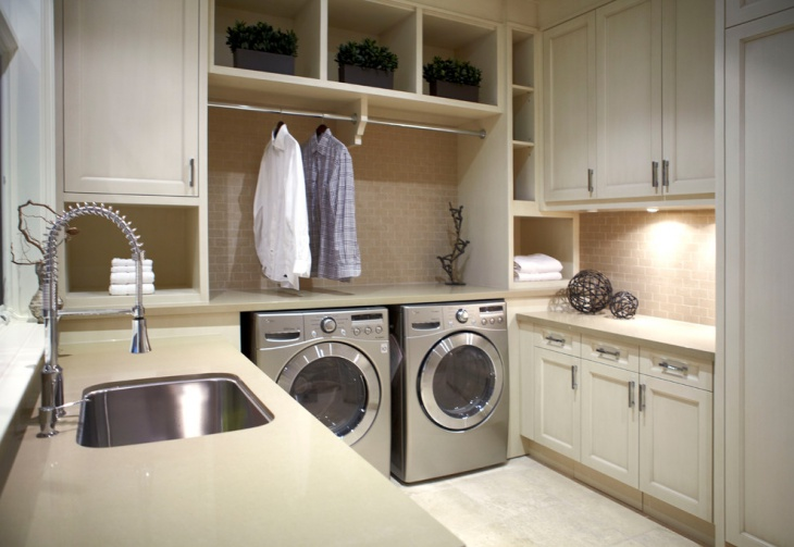 urban traditional laundry room