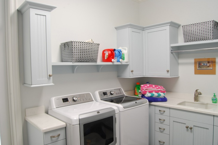 country cottage laundry room design