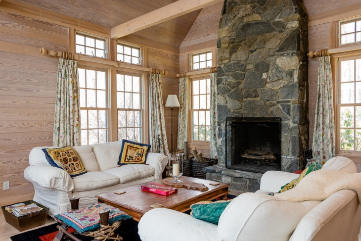 country cottage living room design