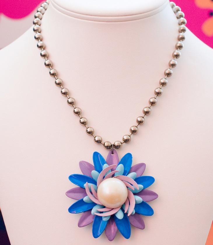 ball chain necklace design