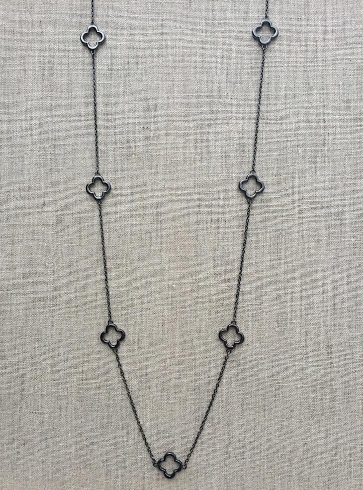 long chain necklace design