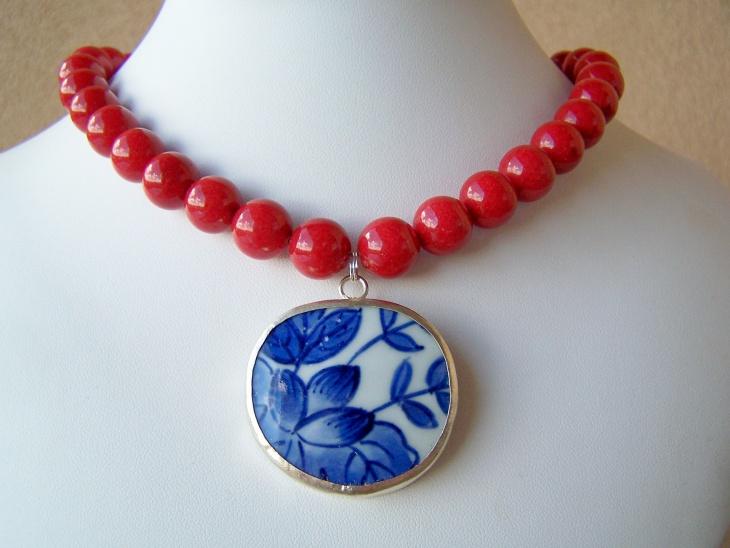jade statement necklace design