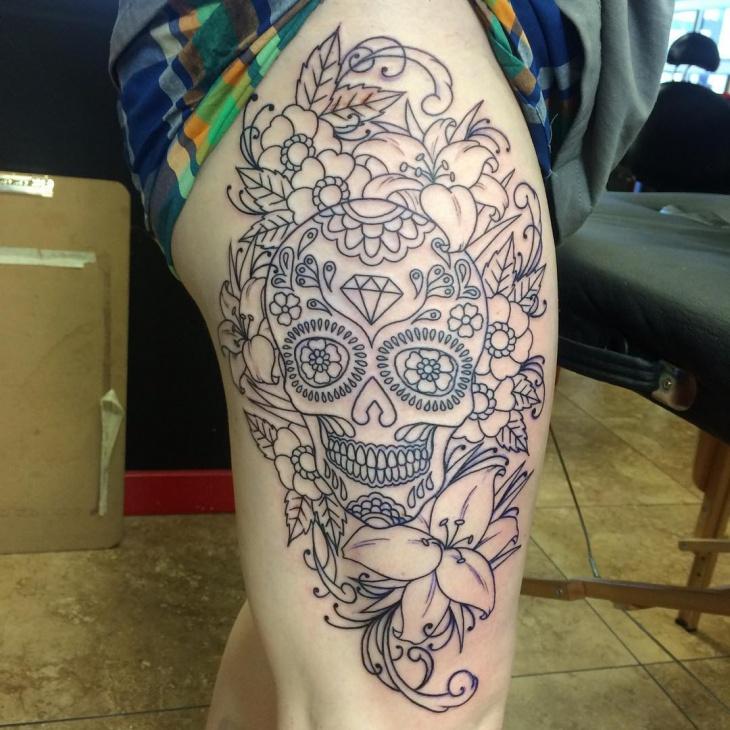 55 Flower Tattoo Designs Ideas Design Trends Premium Psd