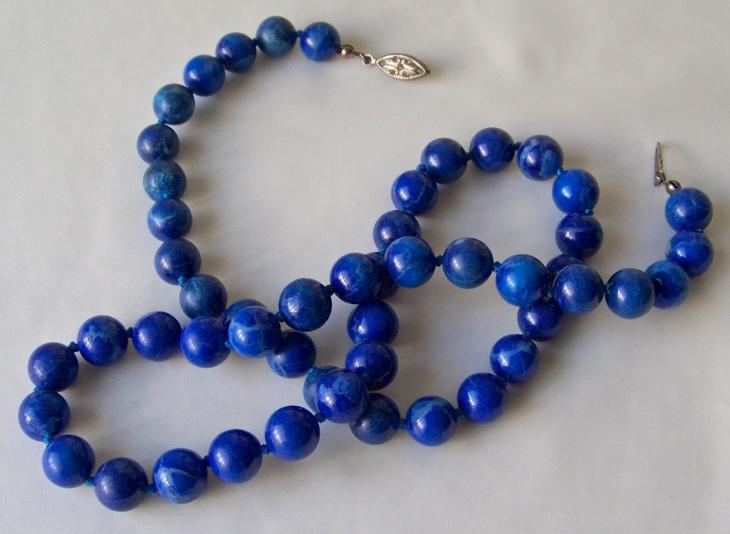 vintage jade necklace design