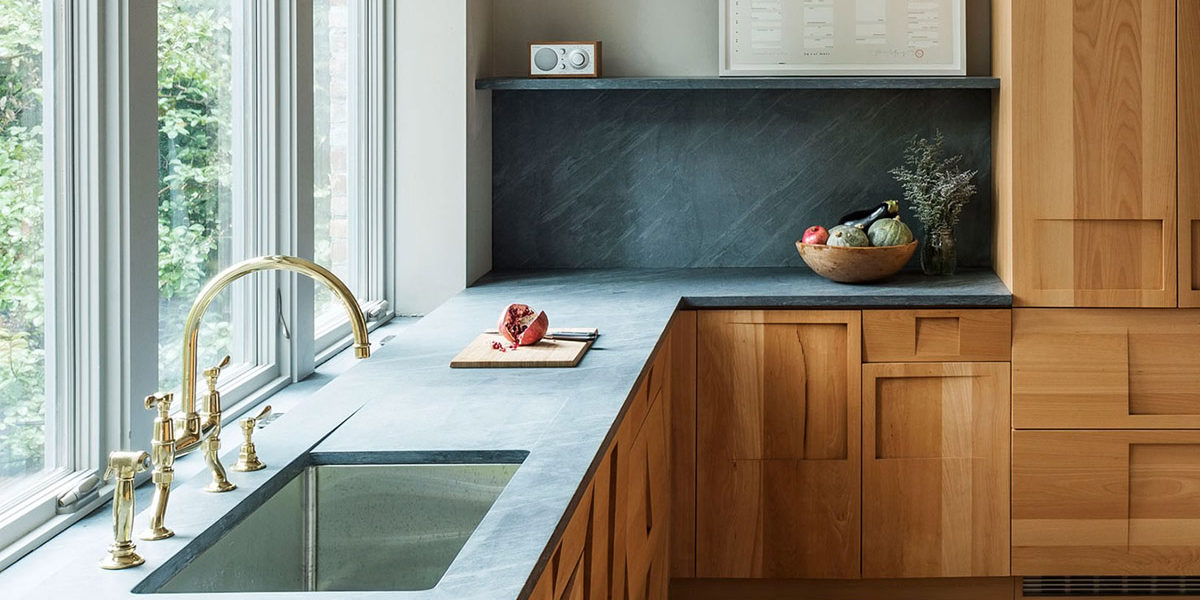 soapstone backsplash