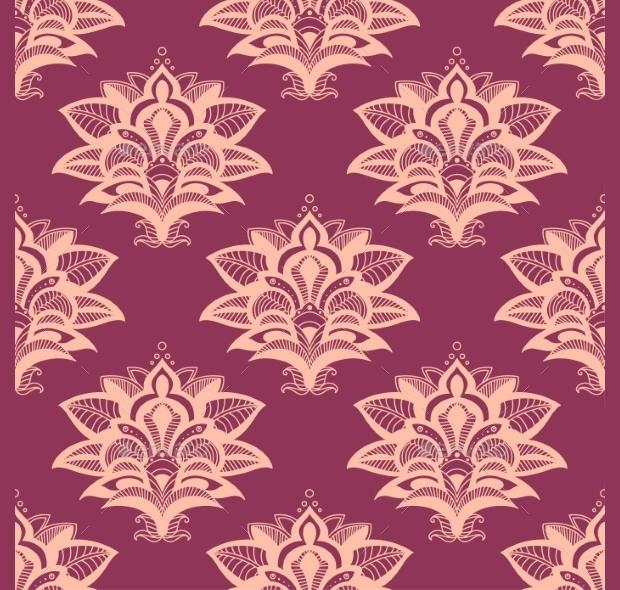 Pink Paisley Pattern