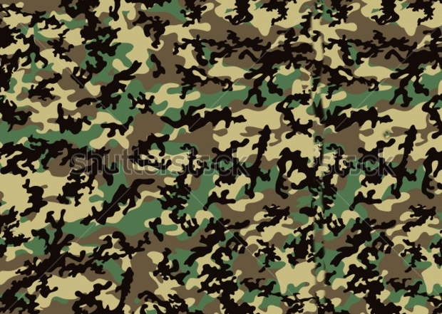 Hunting Camo Pattern Design