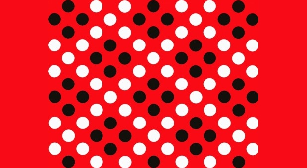 Red and White Polka Dot Photoshop Pattern