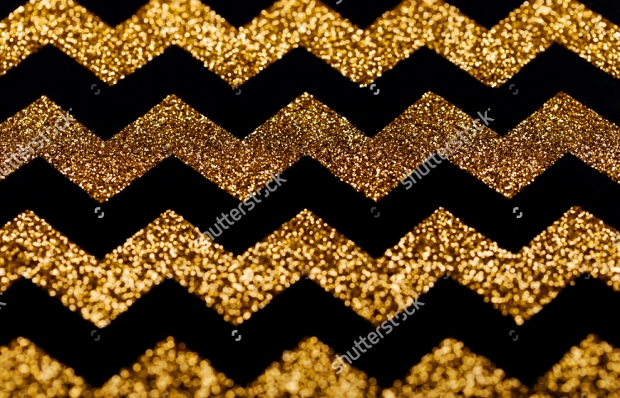 Glitter Chevron Pattern Design
