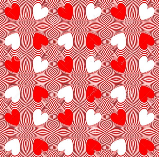 Valentine Heart Pattern Design