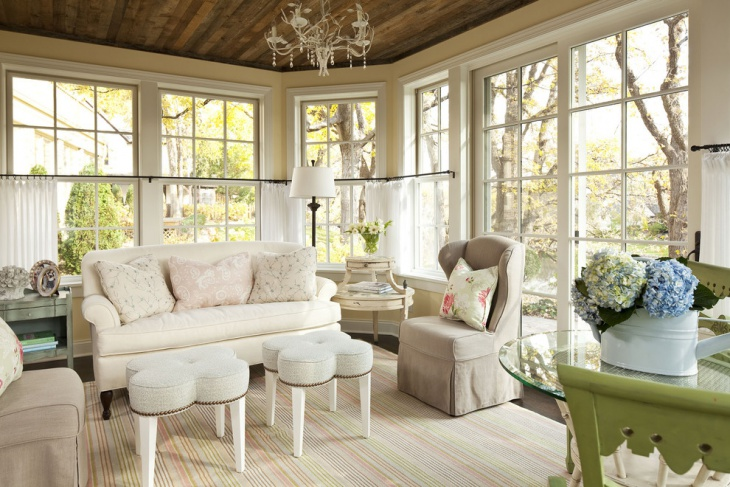 small sunroom interior design