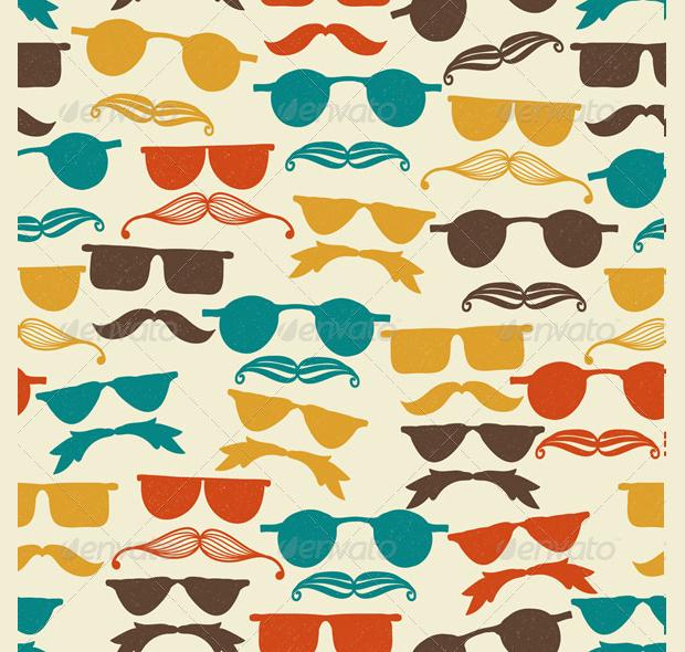 Funky Hipster Pattern Design