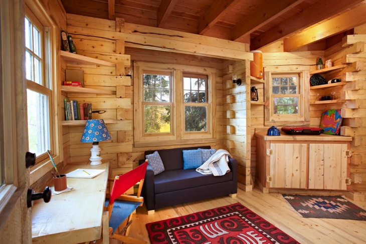 small chalet interior design
