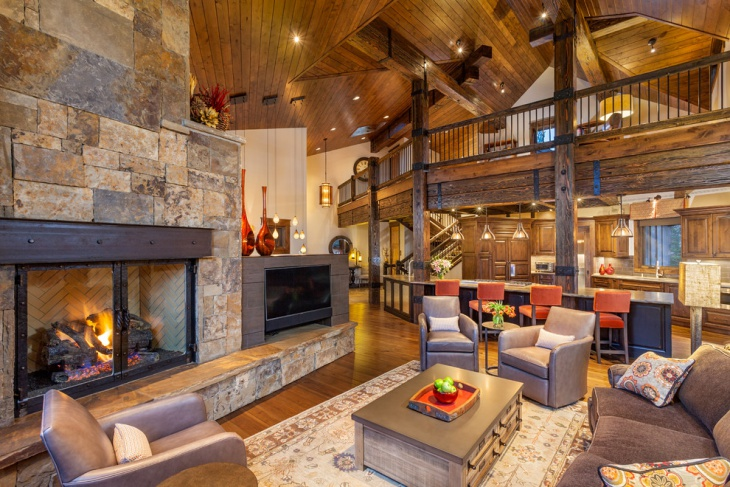 mountain chalet interior design