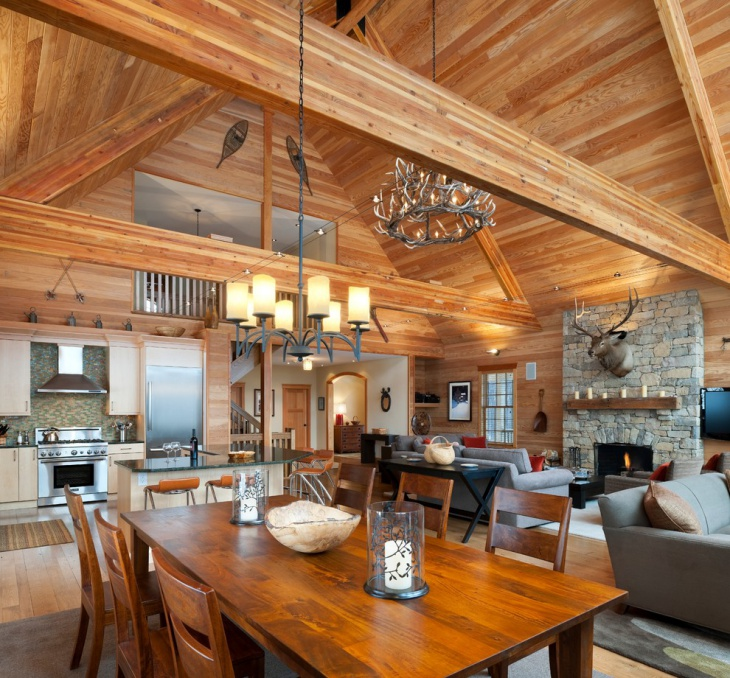 beautiful chalet interior designs