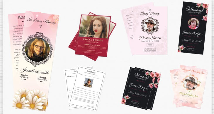 5 Funeral Stationary Templates – Free Word, PDF, PSD Documents ...
