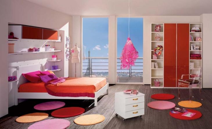 decorative minimalist kids bedroom