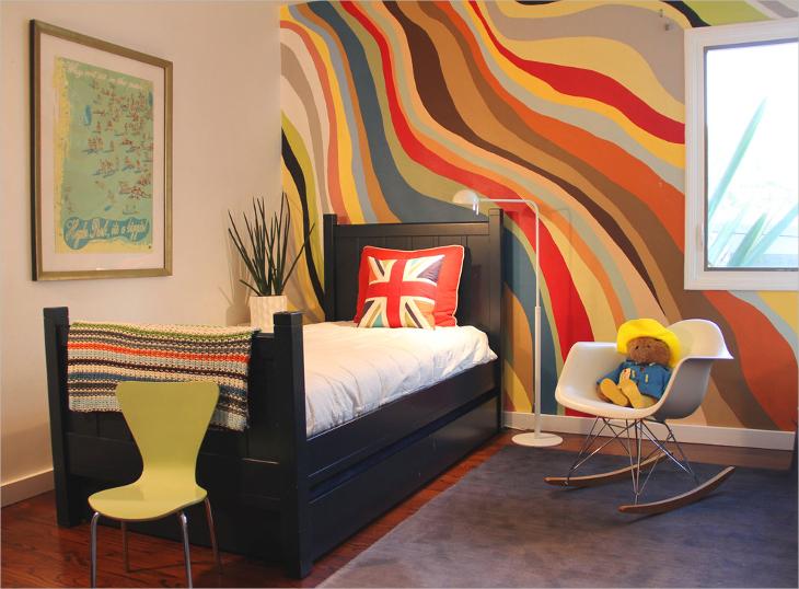 farmhouse minimalist children bedroom