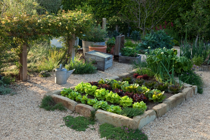 Small Traditional Edible Garden