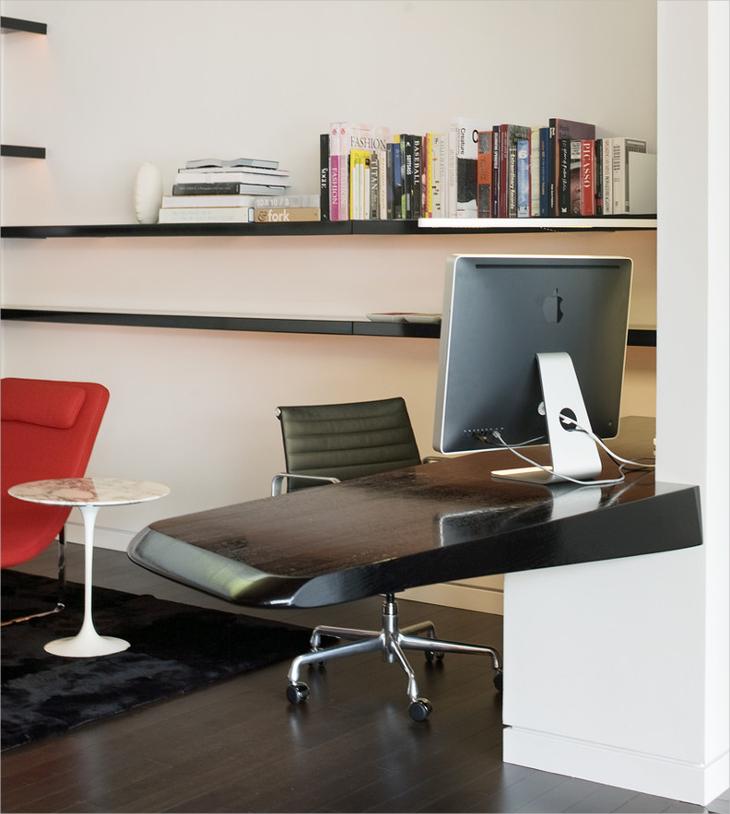Modern Floating Computer Desk
