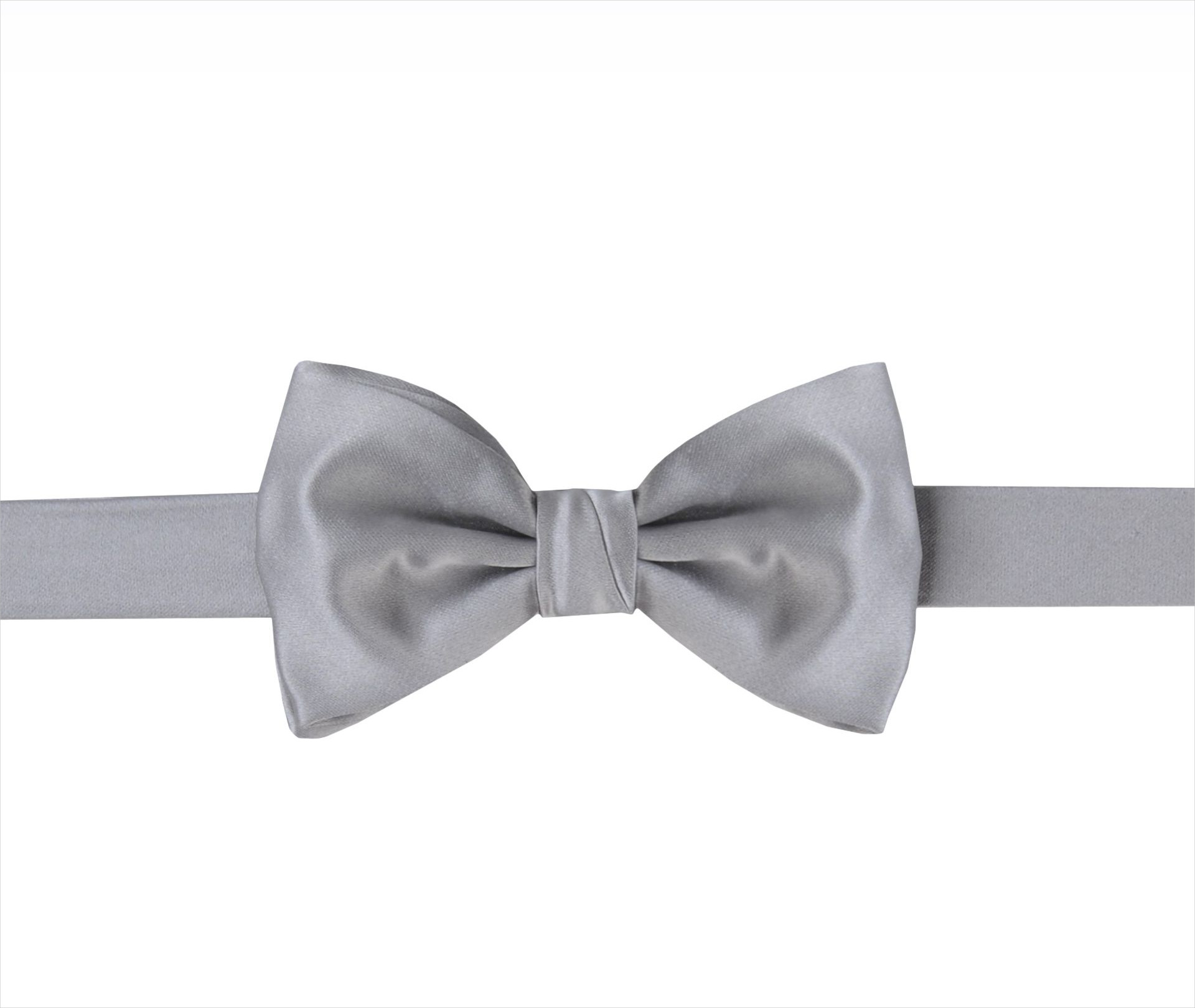 mens white silk bow tie design