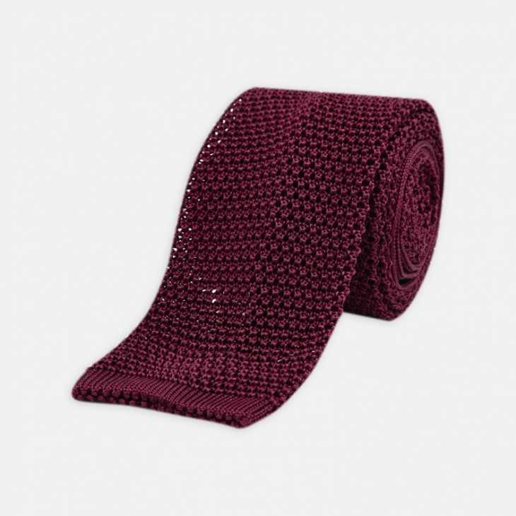 cool knitted tie design for men