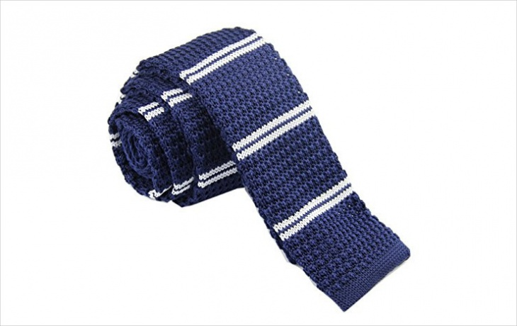 mens knitted neck tie design