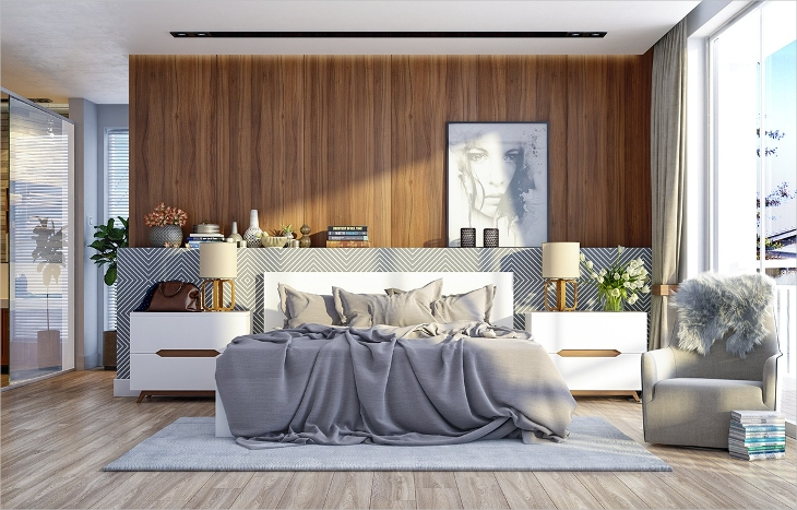 18+ Minimalist Bedroom Designs, Ideas | Design Trends - Premium ...