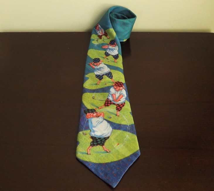 colorful funny cotton tie for men