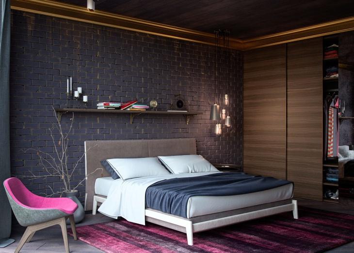 Creative Minimalist Bedroom Idea
