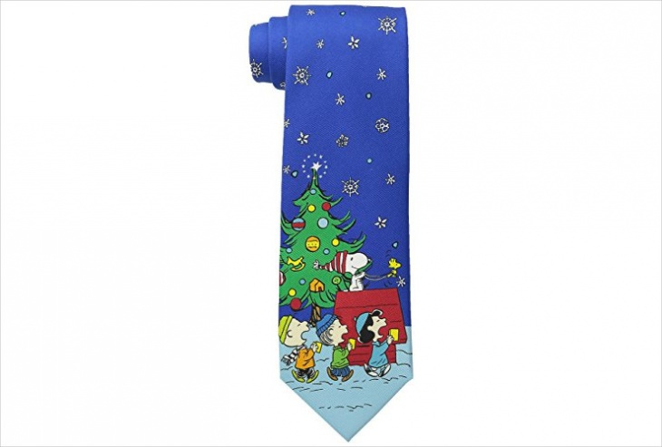 unique christmas tie design for men