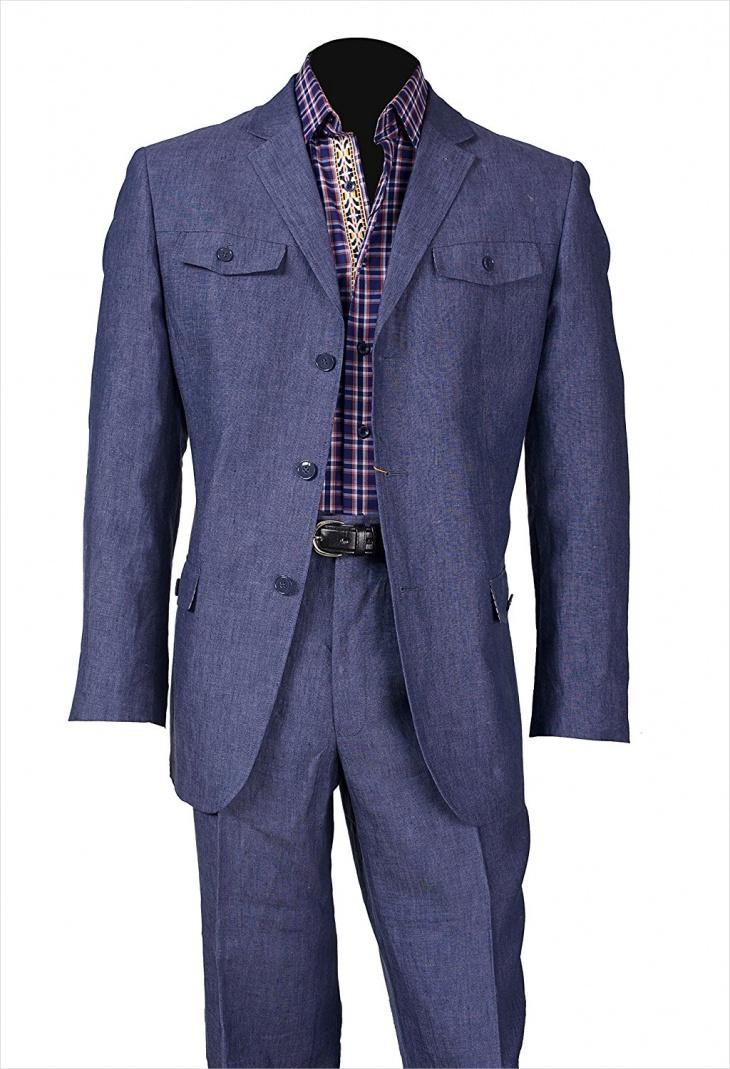 safari sport suit design for men