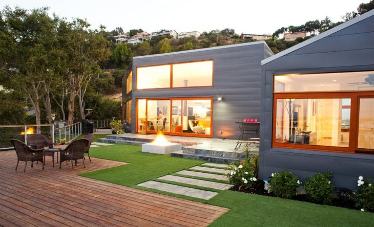 modern commercial landscape design