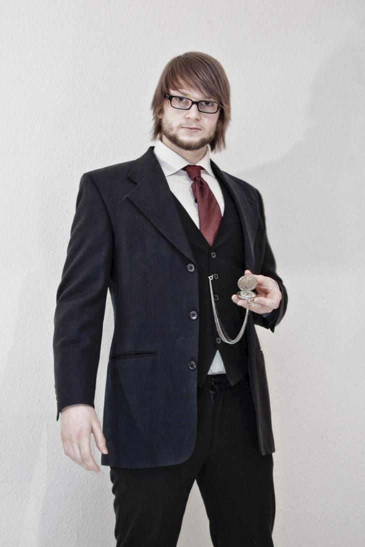 modren black suit designs for men