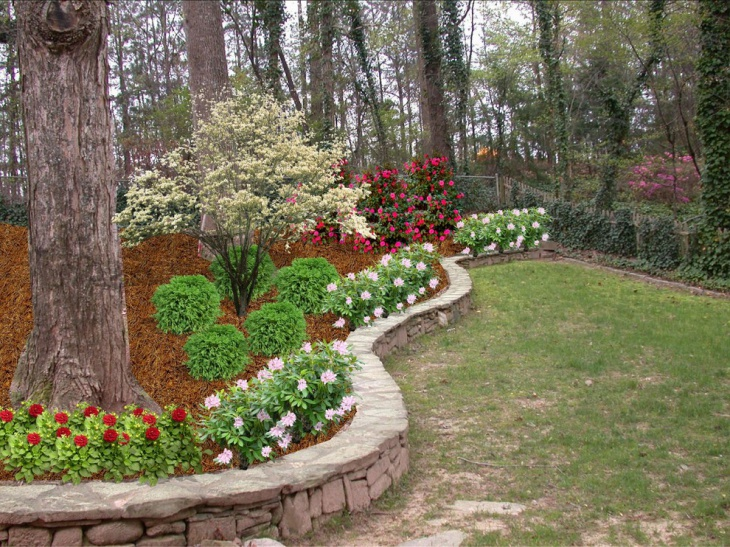 small commercial landscape design