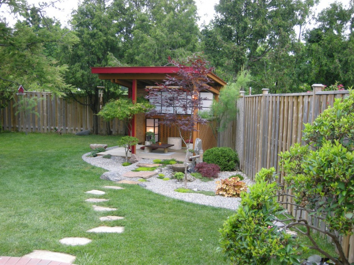 Zen contemporary landscape design