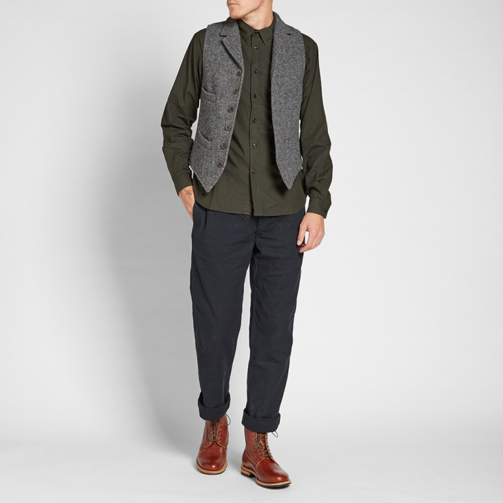 nigel cabourn suit designs for men with vest1