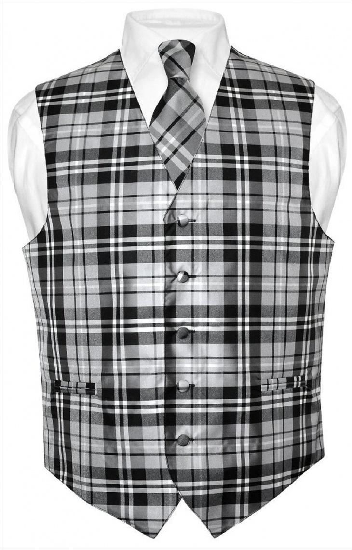 suit plaid designs for men with vest1