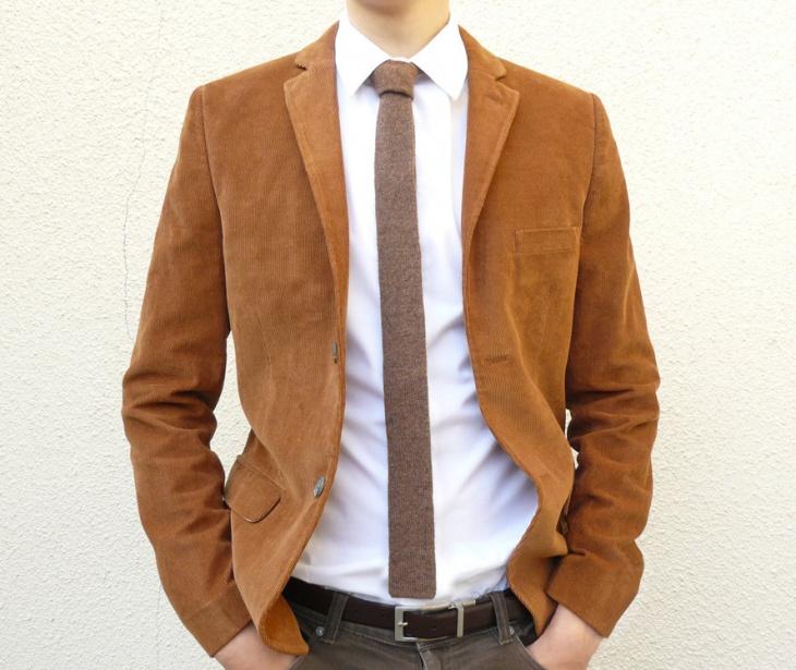 necktie men skinny suit design