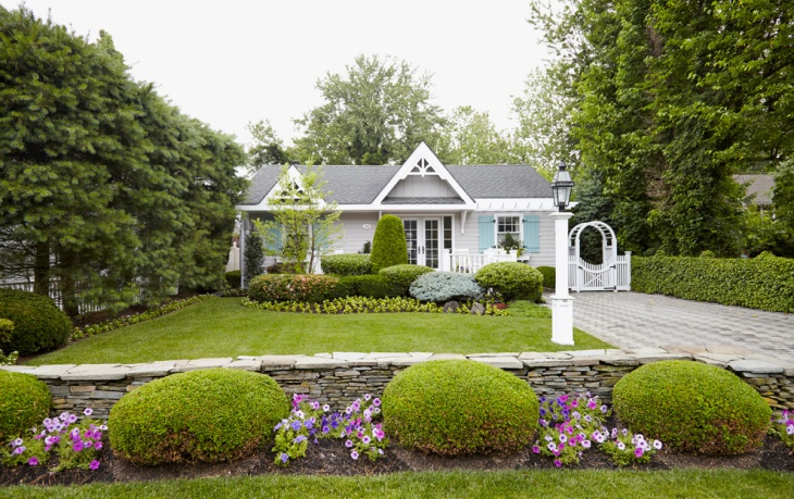 beach cottage landscape design