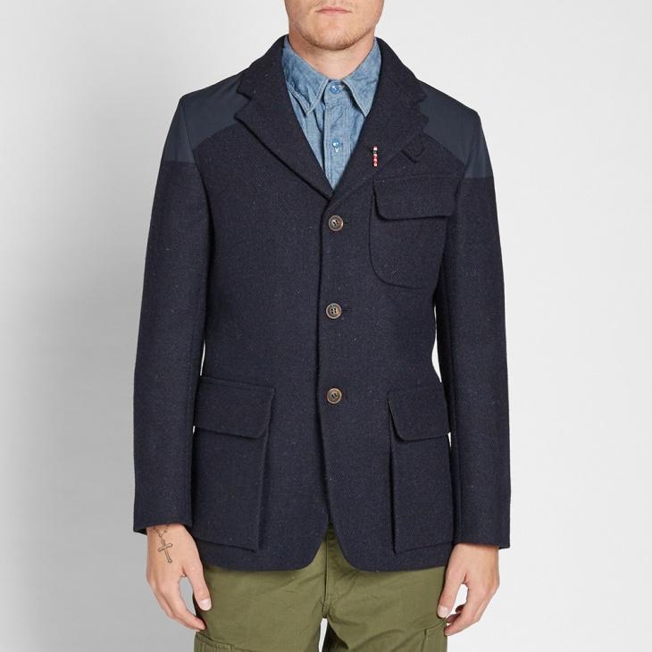 official men blue suit design