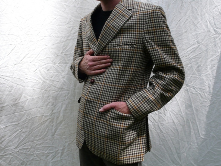 mens tweed suit coat design
