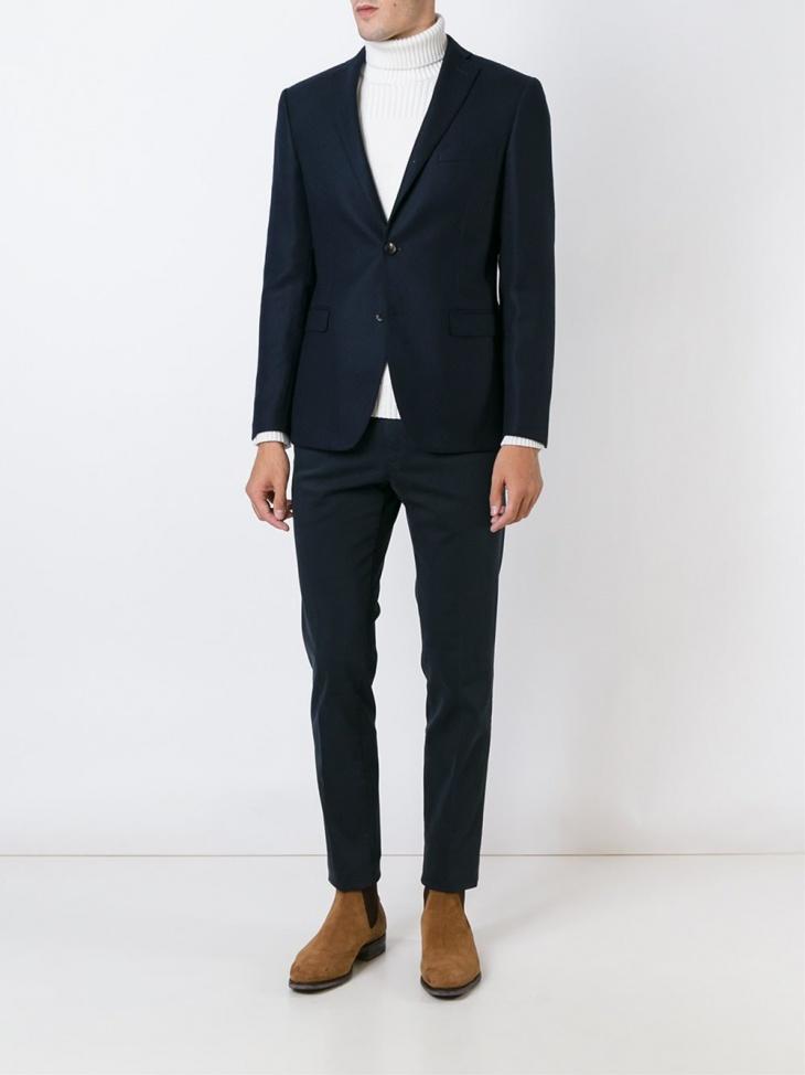 tonello mens tweed suit design